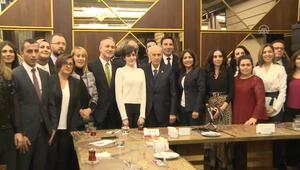 MHP lideri, muhabirlerle bir araya geldi