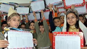 Kahramanmaraşta 288 bin öğrenci karne aldı