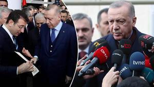 Son dakika... Cumhurbaşkanı Erdoğandan Ekrem İmamoğlunun mektubuyla ilgili açıklama