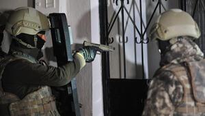 Bursada 700 polisle düzenlenen uyuşturucu operasyonuna 22 tutuklama