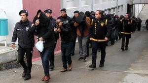Sahte polis, savcı, hakim çetesine 17 tutuklama