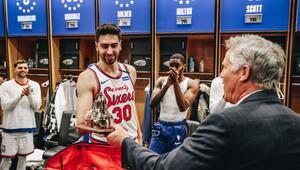 Furkan Korkmaz, NBAde kariyer rekorunu kırdı