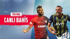 Fenerbahçe, sezonun ikinci yarısını Gaziantepte açıyor Kazanırlar ve 3 gol izlersek iddaada...