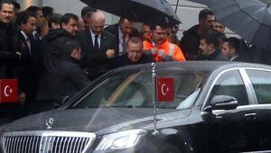 Cumhurbaşkanı Erdoğan Galataport projesi hakkında bilgi aldı
