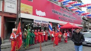 Lüleburgazda yöresel ürünler fuarı açıldı