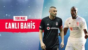 Süper Ligde haftanın maçına Misli.comda CANLI BAHİS oyna Beşiktaşın Sivasspora karşı iddaa oranı...