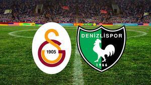 Galatasaray Yukatel Denizlispor maçı ne zaman saat kaçta ve hangi kanalda