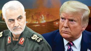 Trump, Süleymaninin öldürüldüğü saldırının son anlarını böyle anlatmış Aniden boom