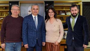 Başkan Uysal, onursal üye oldu