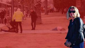 İzmirde vahşet Başında bekledi böyle gözaltına alındı