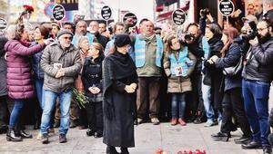 Hrant Dink anıldı... 13 yıldır buradayız