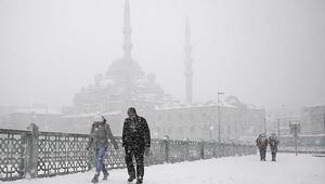 İstanbul'a kar ne zaman yağacak Bugün hava nasıl olacak