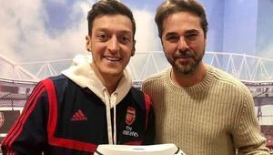Mesut Özile Londrada özel konuk