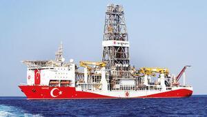 Yavuz sondaj gemisi havadan görüntülendi