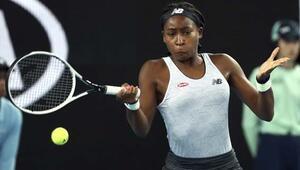Avustralya Açıkta Venus Williamsı eleyen Coco Gauff 2. turda