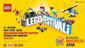 Yarıyıl tatilinde çocuklar Beylikdüzü Migros AVM LEGO® Festivali'nde buluşuyor