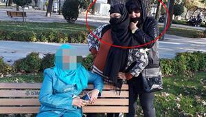 İstanbul'da pes dedirten olay Mağdurla resim çektirince yakalandılar…