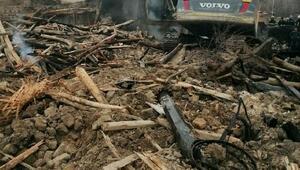 Yalvaçta iki kardeşin evi yandı