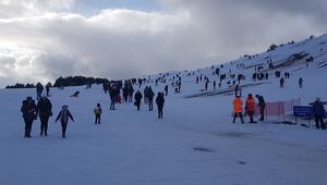 Türkiyenin en yeni kayak merkezi İki hafta önce açıldı...