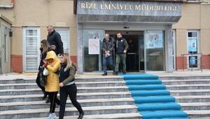 Rize'de fuhuş operasyonu: 42 gözaltı
