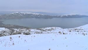 Elazığda göl manzaralı kayak merkezi kış festivali ilgi gördü