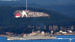 Rus savaş gemisi Caesar Kunikov, Akdenize iniyor