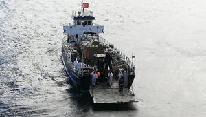 Adalarda fayton temizliği 25 ton atık çıkarıldı...