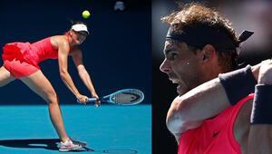 Avustralya Açık | Nadal ilk turda hata yapmadı, Sharapova elendi