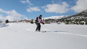 Torosların zirvesinde kar festivali başlıyor