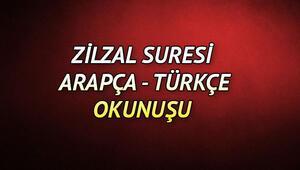 Zilzal Suresi Oku - Zilzal Suresi Anlamı, Tefsiri, Türkçe ve Arapça Okunuşu (Diyanet Meali)