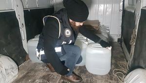 İstanbulda 7 ton metil alkol ele geçirildi
