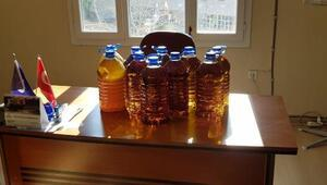 Tirede 70 litre sahte zeytinyağı ele geçirildi