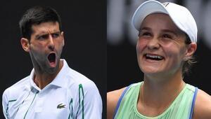 Avustralya Açık   Djokovic ve Barty hata yapmadı 3. tura yükseldiler...