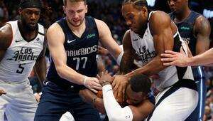 Doncic - Leonard düellosunda kazanan Clippers oldu | NBAde gecenin sonuçları