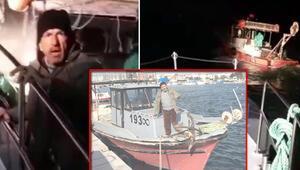 Kaçak avlanan balıkçıdan şaşırtan savunma