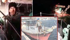 Ege Denizinde yasak avlanan balıkçı kendini savundu