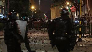 Kolombiyada protestolarda çatışma çıktı