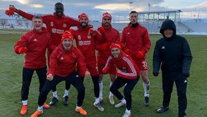 Sivasspor 4 eksikle çalıştı
