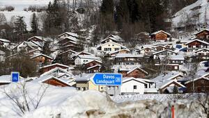 Davos Zirvesinde kurulan Türk Evine katılımcılardan yoğun ilgi