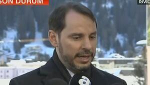 Berat Albayraktan Davos Zirvesinin ikinci gününde önemli açıklamalarda bulundu