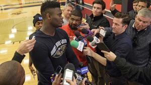 Amerikada gözler Zion Williamsonda NBA Draftın 1 numarası bu gece...