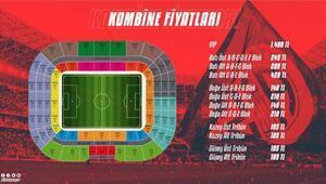 Antalyasporda kombine fiyatlarına düzenleme