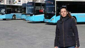 Antalyada kadın şoförlerin tuvalet tepkisi