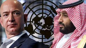 Son dakika haberi... BM açıkladı: Suudi Prens, Jeff Bezosun hacklenmesine karışmış olabilir