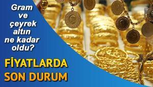 22 Ocak canlı gram ve çeyrek altın fiyatları Altın fiyatları kapanışta ne kadar oldu