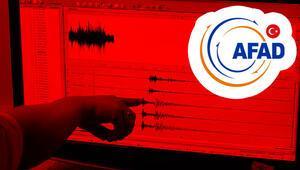 AFAD: Manisada 212, Ankarada 10 artçı deprem meydana geldi