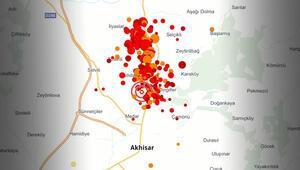 Manisadaki deprem sonrası hasar tespit çalışması başlatıldı