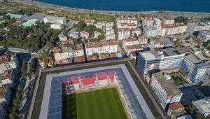 Göztepenin yeni stadı, Beşiktaş maçıyla kapılarını açıyor