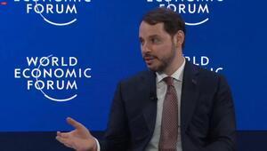 Bakan Albayrak Davos Zirvesinde