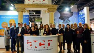 Antalyanın kongre potansiyeli İstanbuldan dünyaya anlatılıyor